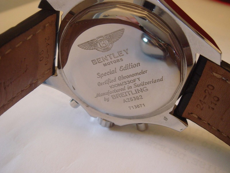 Real or Fake?!?! BREITLING BENTLEY MOTORS WATCH
