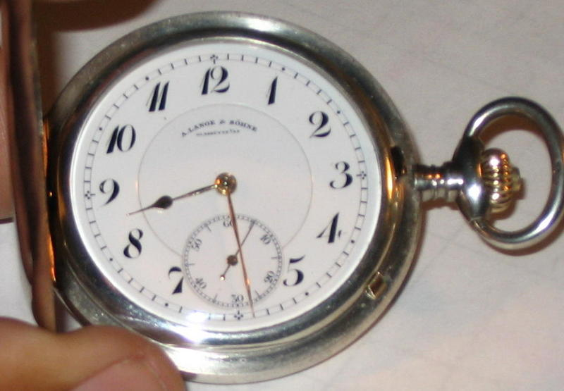 Silver & Gold Pocket Watch Please Assist