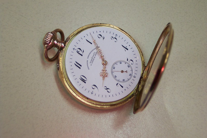 Gold Lange pocketwatch:  Need Help!